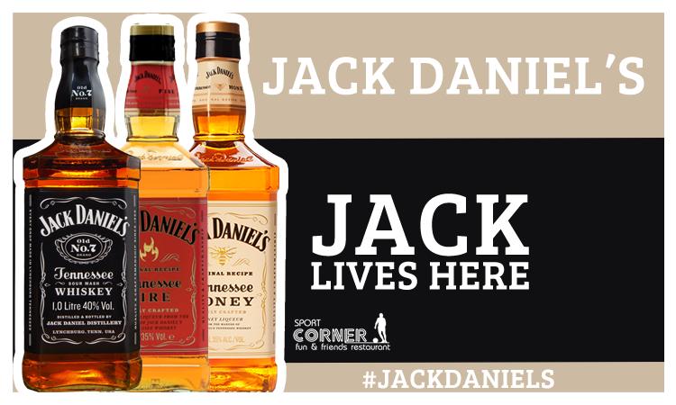 Jack Daniel's w Sport Corner